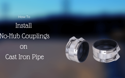 How to Install No-Hub Couplings on Cast Iron Pipe